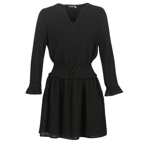 Clothing Women Short Dresses Kaporal DOLLI Black