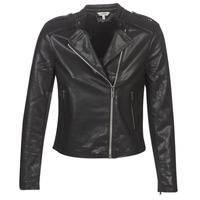 Clothing Women Leather jackets / Imitation leather Kaporal XUT Black