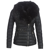 Clothing Women Duffel coats Moony Mood LOUVE Black