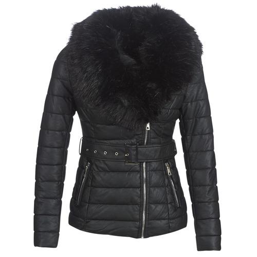 Clothing Women Duffel coats Moony Mood LOUVE Black