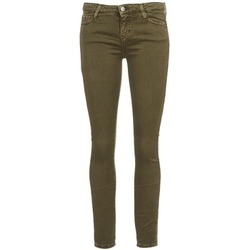Clothing Women Cropped trousers Acquaverde SCARLETT Kaki
