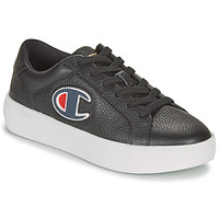 Shoes Women Low top trainers Champion ERA LEATHER Black