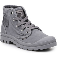 Shoes Men Hi top trainers Palladium Lifestyle shoes  US Pampa Hi Titanium 92352-011-M grey