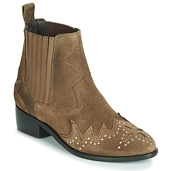 Shoes Women Mid boots Pepe jeans CHISWICK LESSY Brown