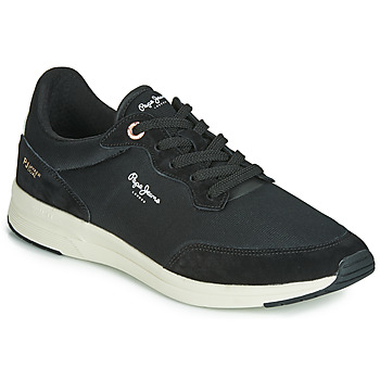 Shoes Men Low top trainers Pepe jeans JAYKER BASIC Black