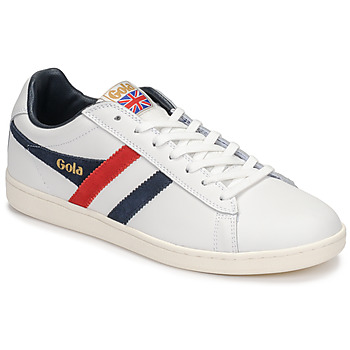 Shoes Men Low top trainers Gola EQUIPE White / Blue / Red