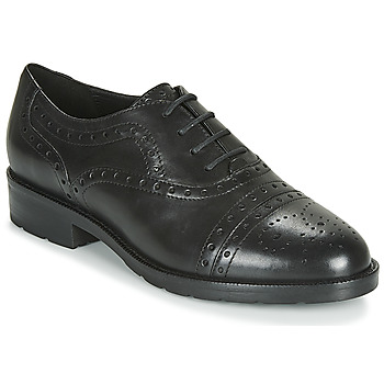 Shoes Women Derby Shoes Geox D BETTANIE Black
