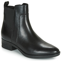 Shoes Women Mid boots Geox FELICITY Black