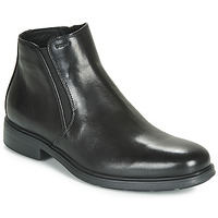 Shoes Men Mid boots Geox U DUBLIN Black