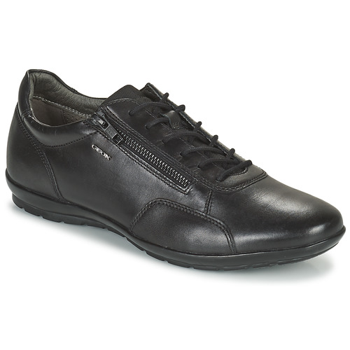Shoes Men Derby Shoes Geox UOMO SYMBOL Black