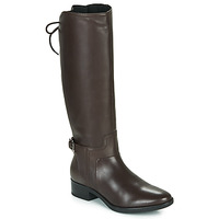 Shoes Women High boots Geox D FELICITY Brown