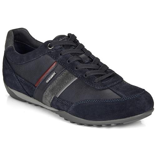 Shoes Men Low top trainers Geox U WELLS Marine