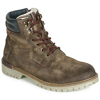Shoes Men Mid boots Mustang 4142502-389 Brown
