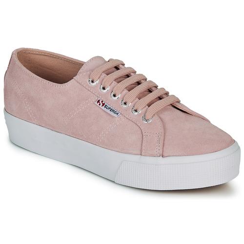 Shoes Women Low top trainers Superga 2730 SUEU Pink