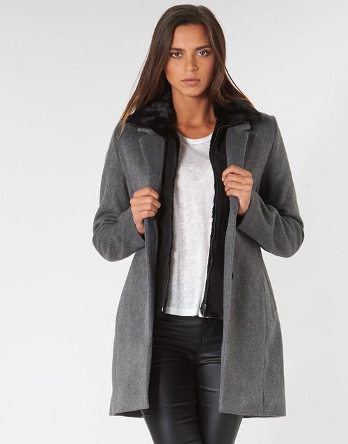 Clothing Women coats Ikks BP44235-29 Grey