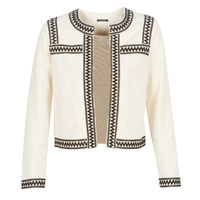 Clothing Women Jackets / Cardigans One Step MINA White