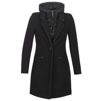 Clothing Women coats One Step DRISS Black