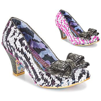 Shoes Women Heels Irregular Choice LADY BANJOE White / Black