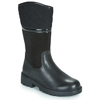 Shoes Girl High boots Geox J CASEY GIRL WPF Black