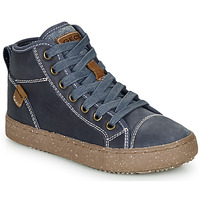 Shoes Boy Hi top trainers Geox J ALONISSO BOY Blue