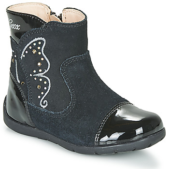 Shoes Girl High boots Geox B KAYTAN Black