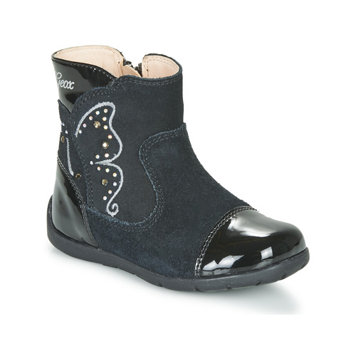 Shoes Girl High boots Geox B KAYTAN Black