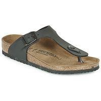 Shoes Children Flip flops Birkenstock GIZEH  black