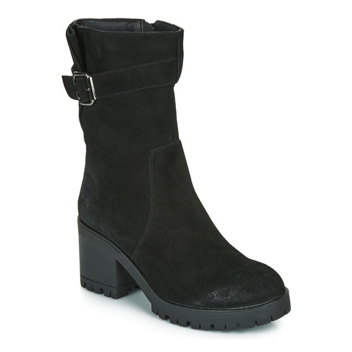 Shoes Women High boots Les Petites Bombes BOUM Black