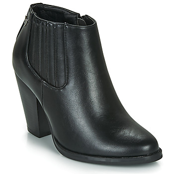 Shoes Women Ankle boots Les Petites Bombes TERRY Black
