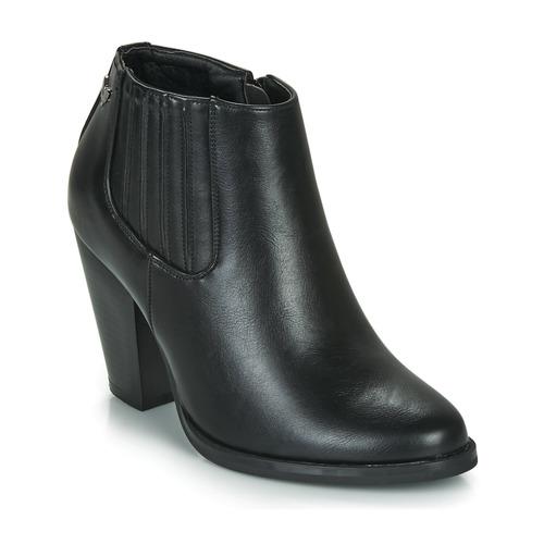 Shoes Women Ankle boots Les Petites Bombes TERRY Black