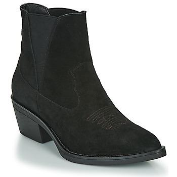 Shoes Women Ankle boots Les Petites Bombes IRINA Black