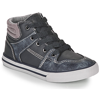 Shoes Boy Hi top trainers Chicco CAMILLO Blue / Grey