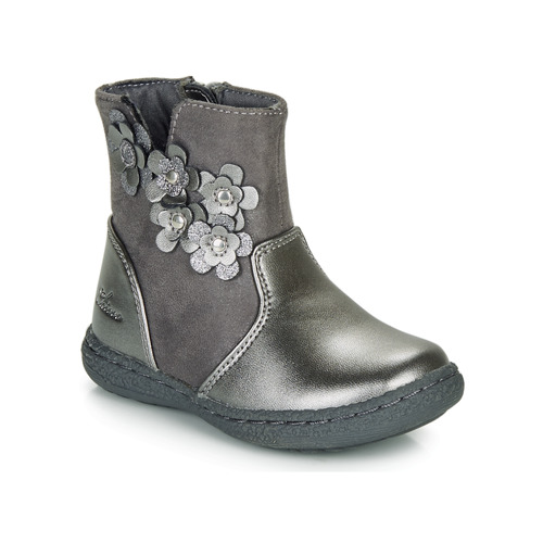 Shoes Girl High boots Chicco CINEY Grey