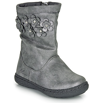 Shoes Girl High boots Chicco CLEDIA Grey