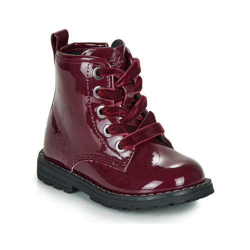 Shoes Girl Mid boots Chicco COLLES Bordeau