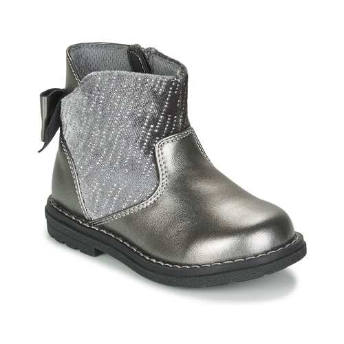Shoes Girl High boots Chicco CORRY Grey