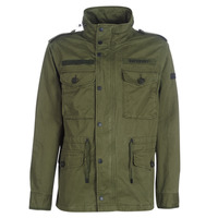 Clothing Men Parkas Superdry ROOKIE FIELD JACKET Green