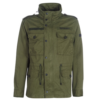 Clothing Men Parkas Superdry ROOKIE FIELD JACKET Kaki