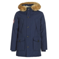 Clothing Men Parkas Superdry EVEREST PARKA Marine