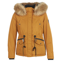 Clothing Women Parkas Superdry ALPINE MICROFIBRE JACKET Camel