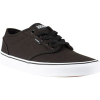 Shoes Men Trainers Vans Atwood Canvas Trainers black
