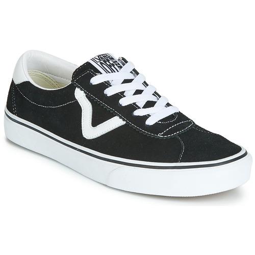 Shoes Low top trainers Vans VANS SPORT Black