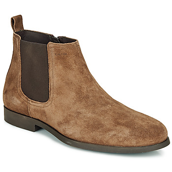 Shoes Men Mid boots Geox U KASPAR C Brown