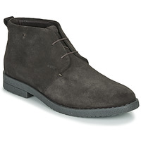 Shoes Men Mid boots Geox U BRANDLED B Brown