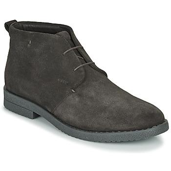 Shoes Men Mid boots Geox U BRANDLED B Brown