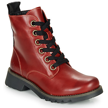 Shoes Women Ankle boots Fly London RAG Red