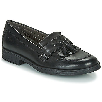 Shoes Girl Derby Shoes Geox JR AGATA A  black