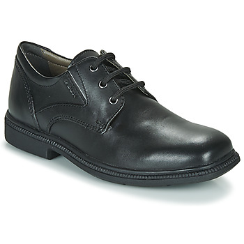 Shoes Boy Derby Shoes Geox J FEDERICO M  black