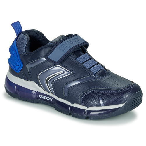 Shoes Boy Low top trainers Geox J ANDROID B Blue