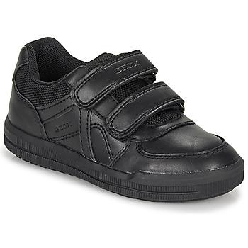 Shoes Boy Derby Shoes Geox J ARZACH BOY E  black